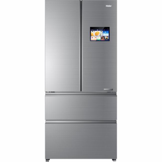 海尔冰箱bcd-553wdibu1风冷(自动除霜)耀世银